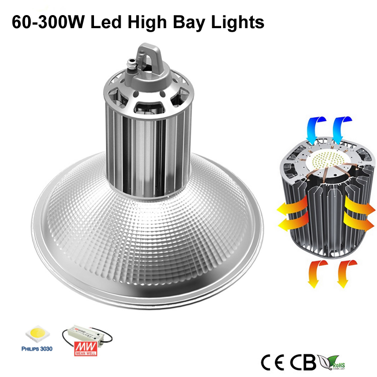 Cu Series 60W-300W Led High Bay Light