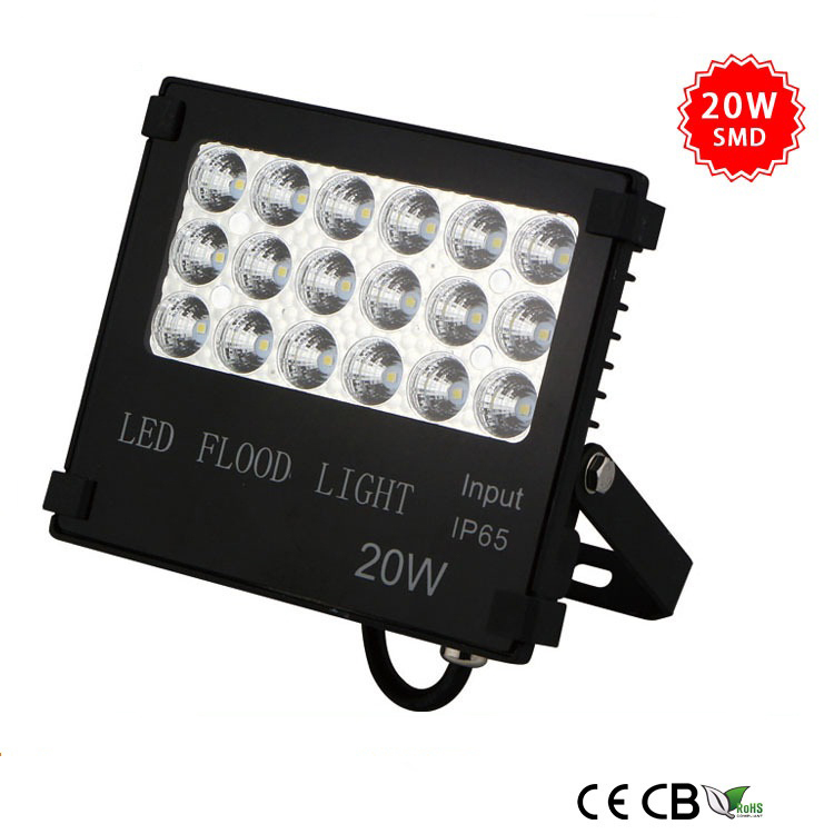 20w slim smd led flood light