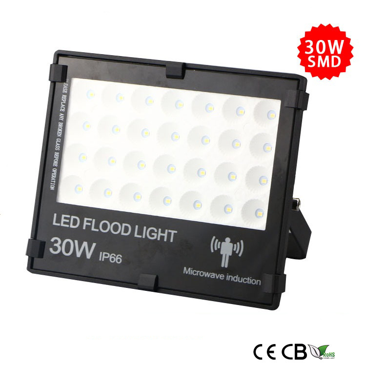 30w slim smd led flood light