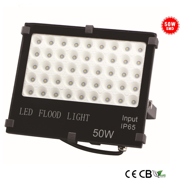 50w slim smd led flood light