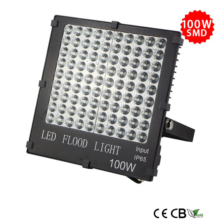 100w slim smd led flood light