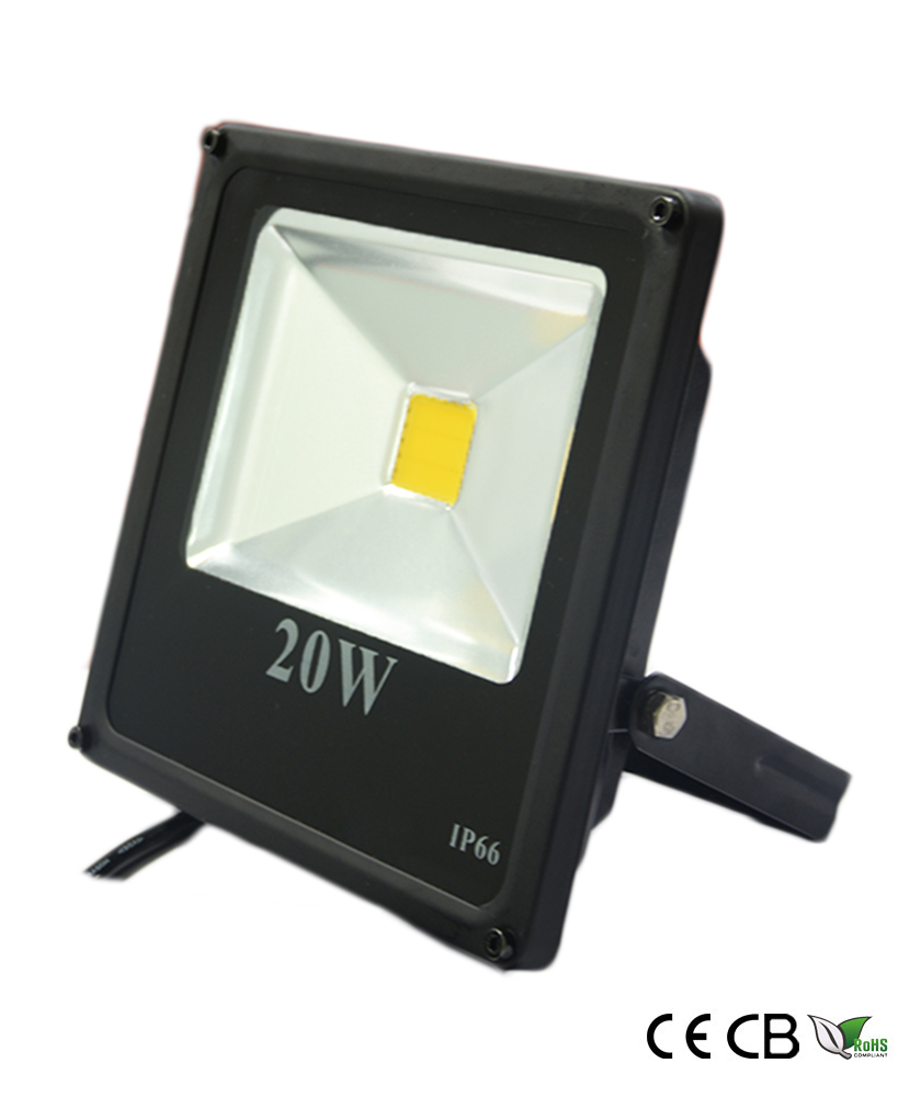 20w slim cob led flood light