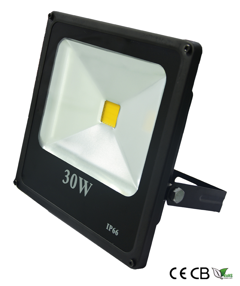 30w slim cob led flood light