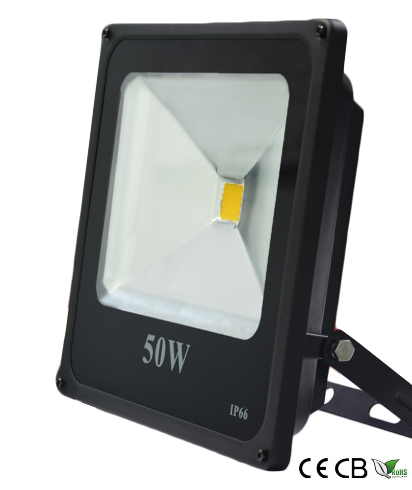 50w slim cob led flood light