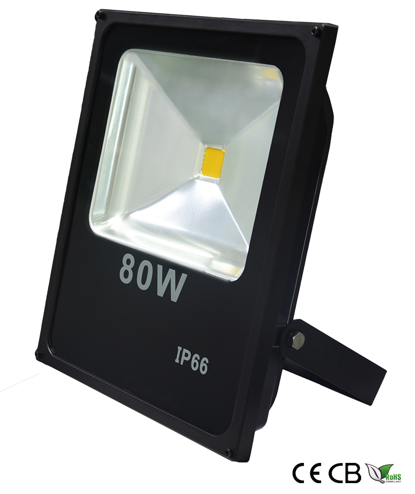80w slim cob led flood light