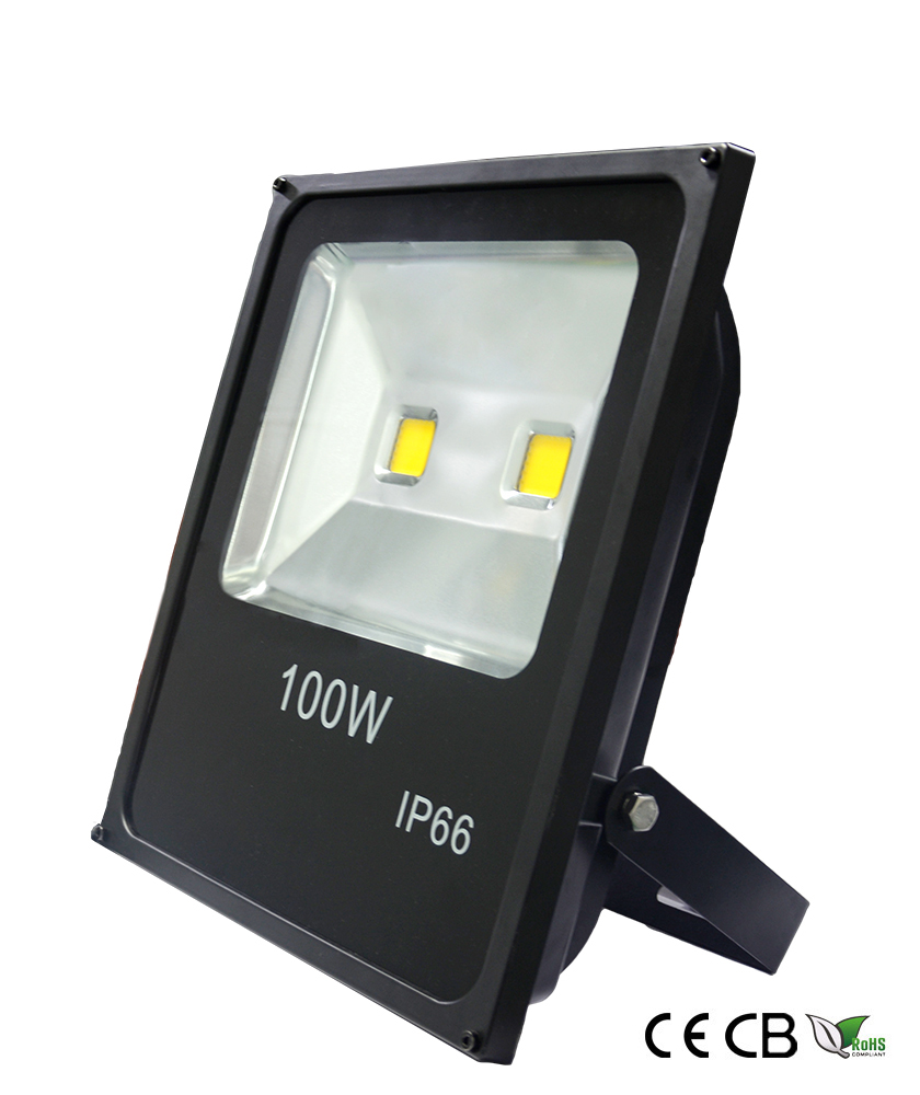 100w slim cob led flood light
