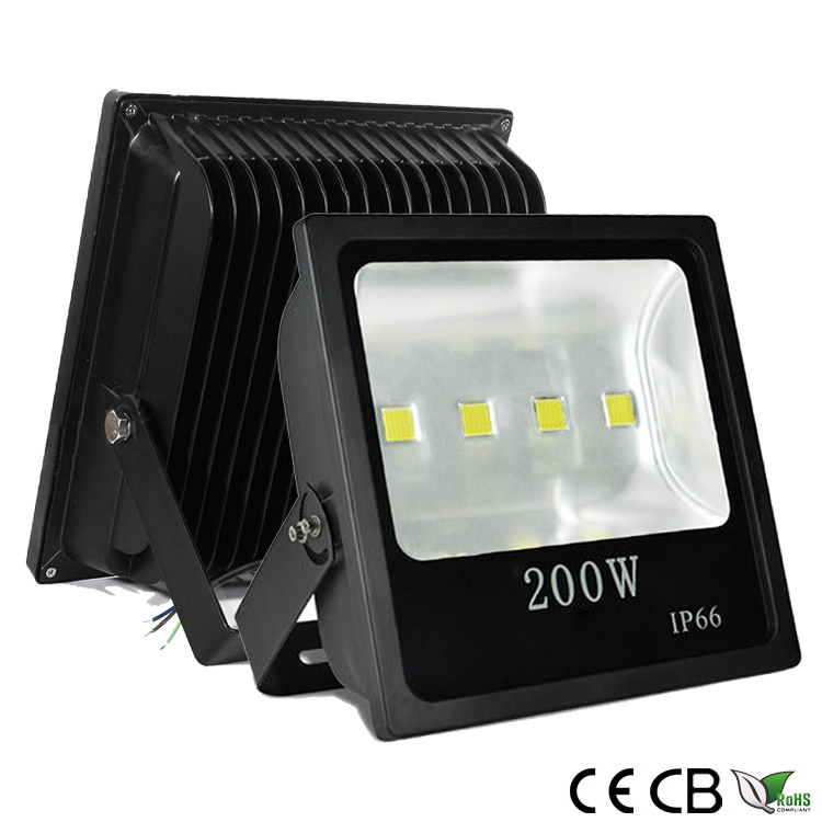 200w slim cob led flood light