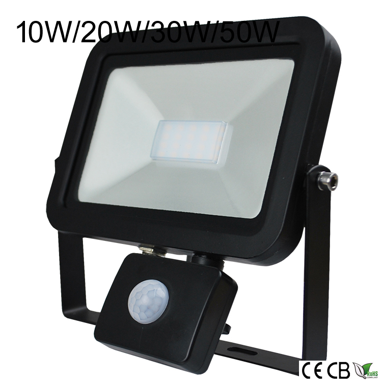 PIR sensor led flood light