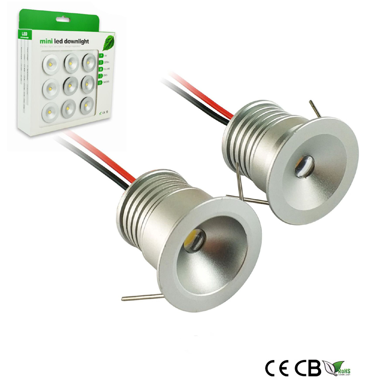 12V 1W mini led downlight