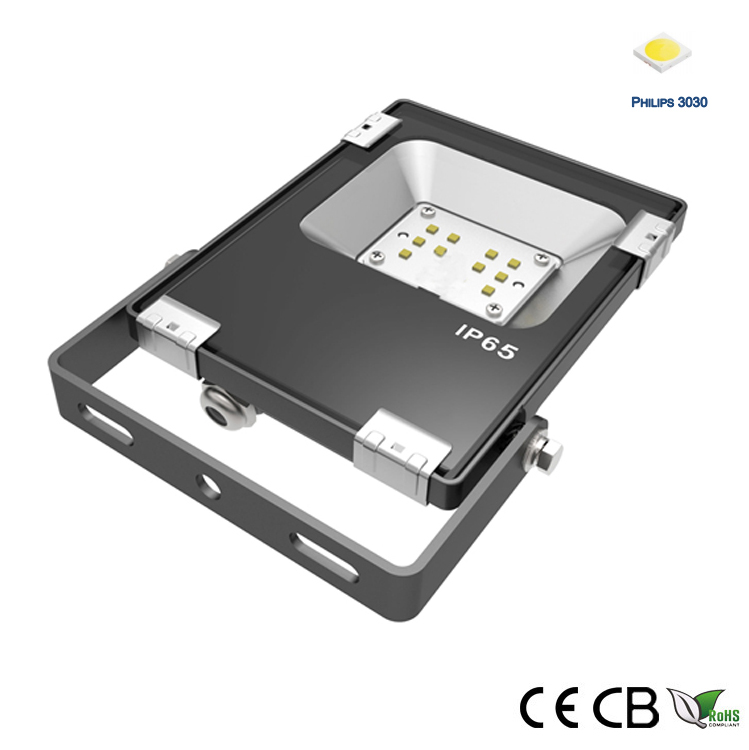 10w philips 3030 led flood light