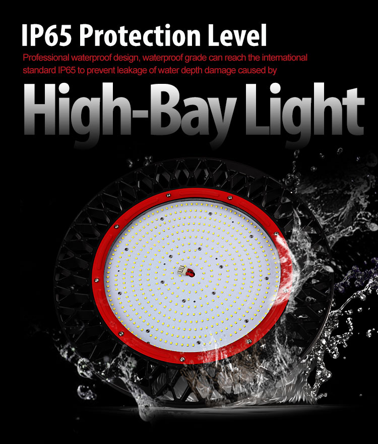 IP65 150W UFO Led high bay